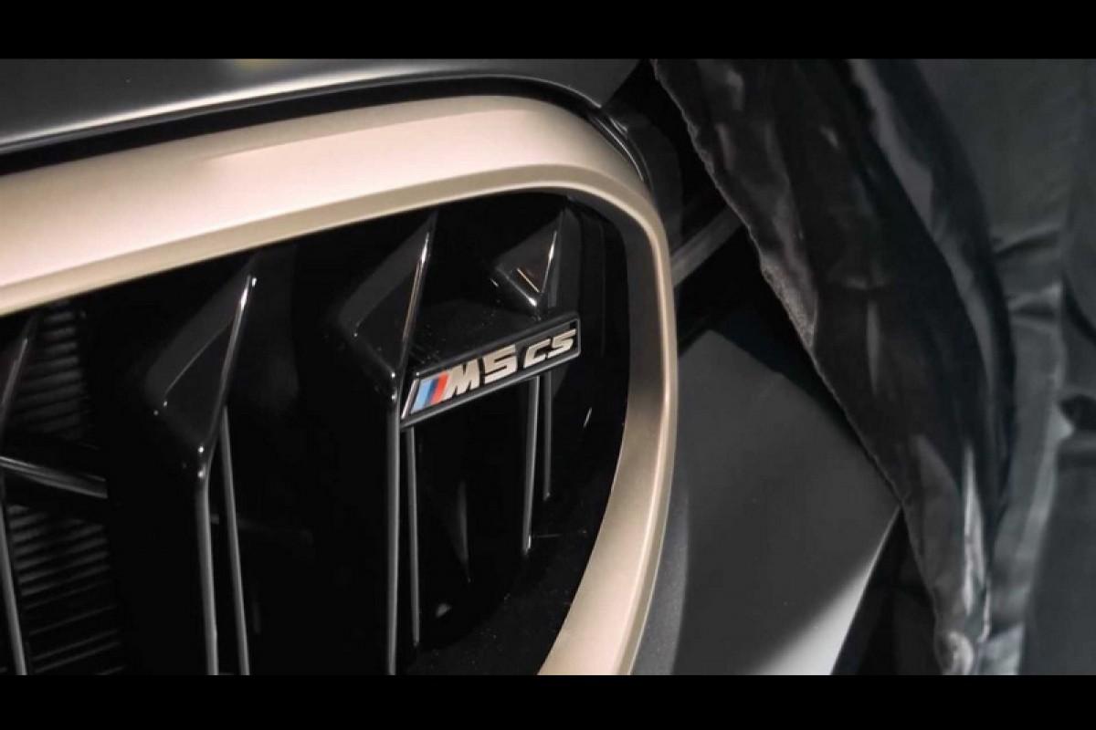 性能更為強悍的BMW M5 CS是部為了賽道而生的速度機器!