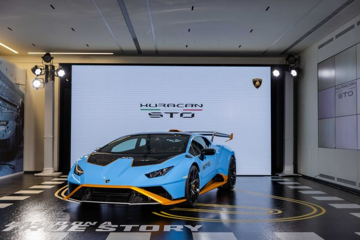 源自賽道,犇於公路全新Lamborghini Huracan STO旋風抵臺