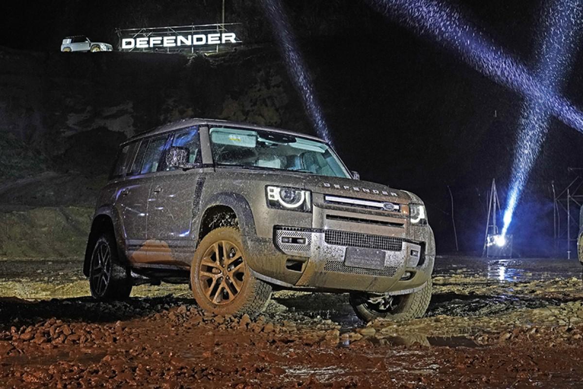 史上最硬發表會,Land Rover全新世代Defender風雨泥濘中震撼上市!(影片)