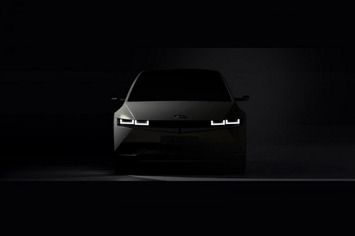 Hyundai Ioniq 5廠圖釋出,充5分鐘有100公里,還可變身成發電機供電