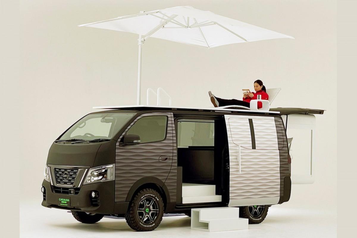 因應後疫情時代,Nissan推出行動辦公室概念NV350 Caravan Office Pod