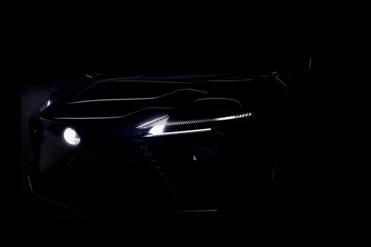 Lexus首款純電休旅發表在即,率先釋出頭尾局部照解渴