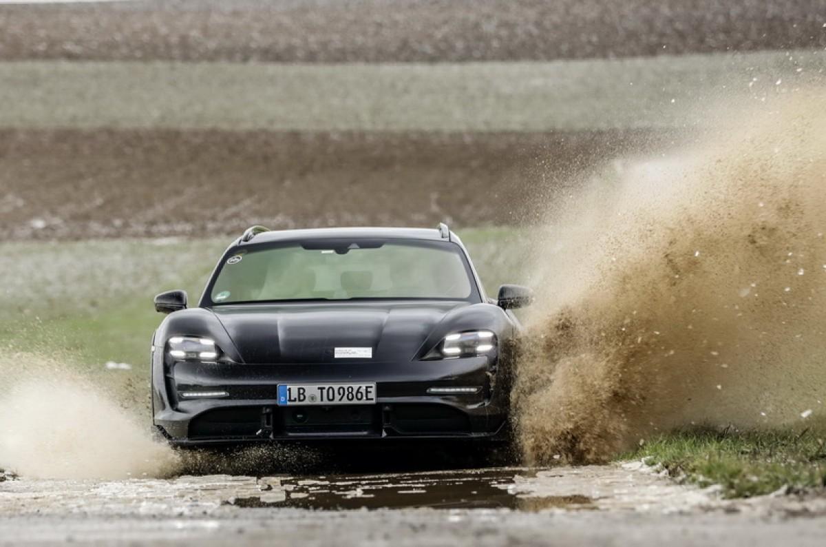 發表前夕的一大亮點! Porsche Taycan Cross Turismo竟然有輕度越野模式!