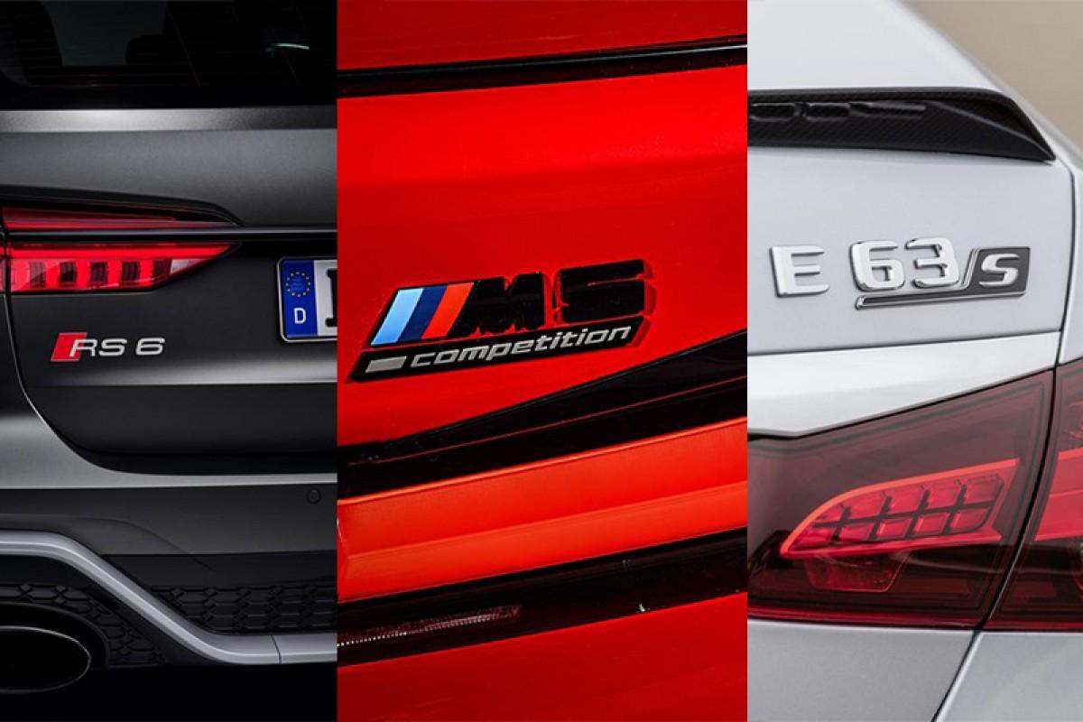 Audi RS 6 Avant vs BMW M5 Competition vs Mercedes-AMG E63 S,是誰直接海放其它對手?