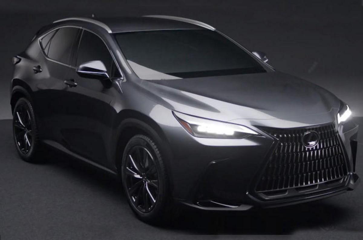 有意 無意,Lexus全新NX車圖曝光