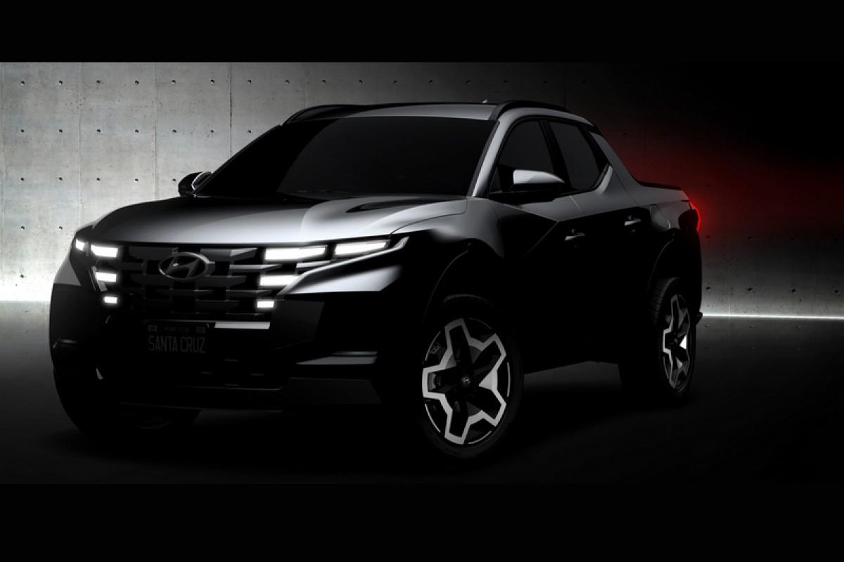 Hyundai皮卡Santa Cruz即將於4/15亮相
