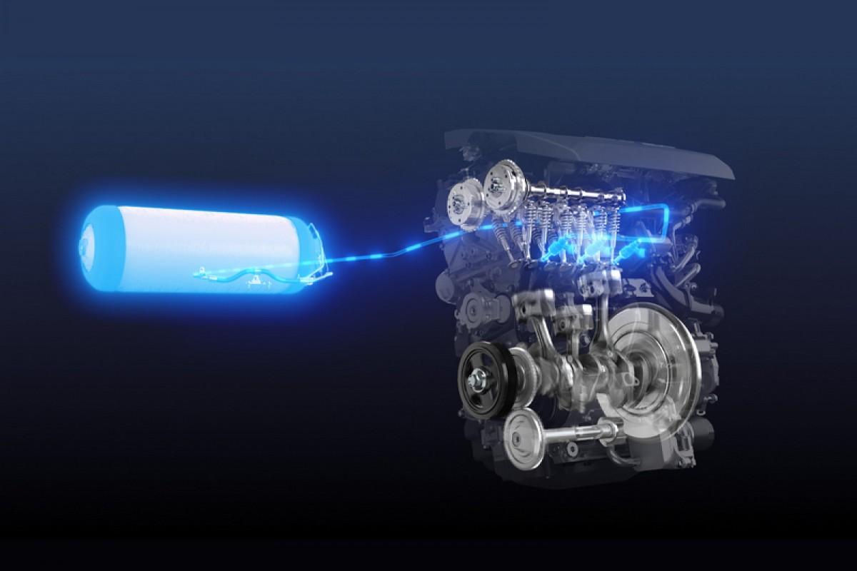 內燃機救星,Toyota氫動力引擎
