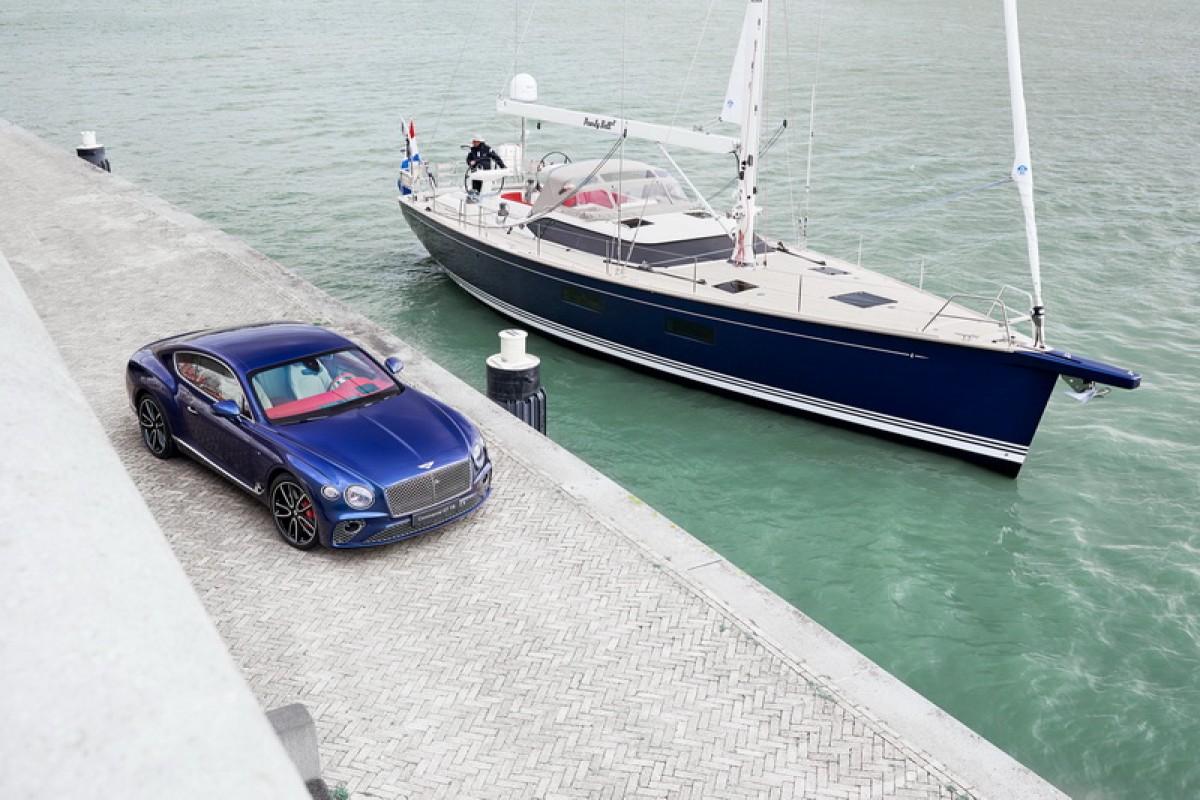 Bentley客製化服務跨足新領域,將客戶遊艇打造成與Continental GT相同風格!
