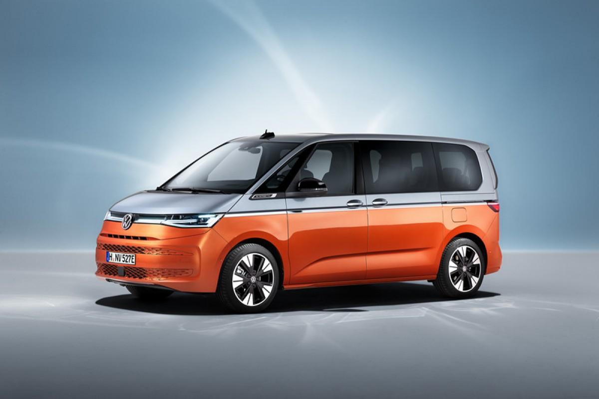 歷代最聰明、最不像商車的Volkswagen T7 Multivan正式亮相