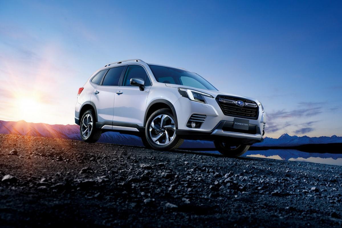 外觀微整、EyeSight更聰明,Subaru小改Forester發表