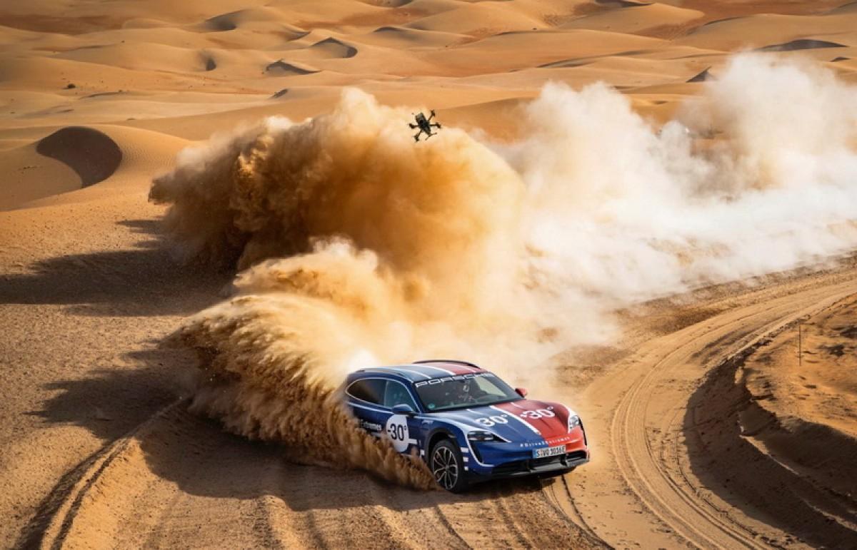 Porsche Taycan Cross Turismo的越野能力如何展現? 那就來去飆沙滑冰吧!