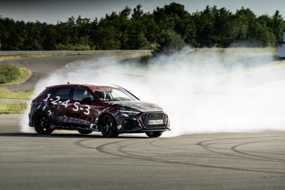 新世代Audi RS3即將現身,超過400匹馬力的五缸渦輪引擎是致勝焦點!