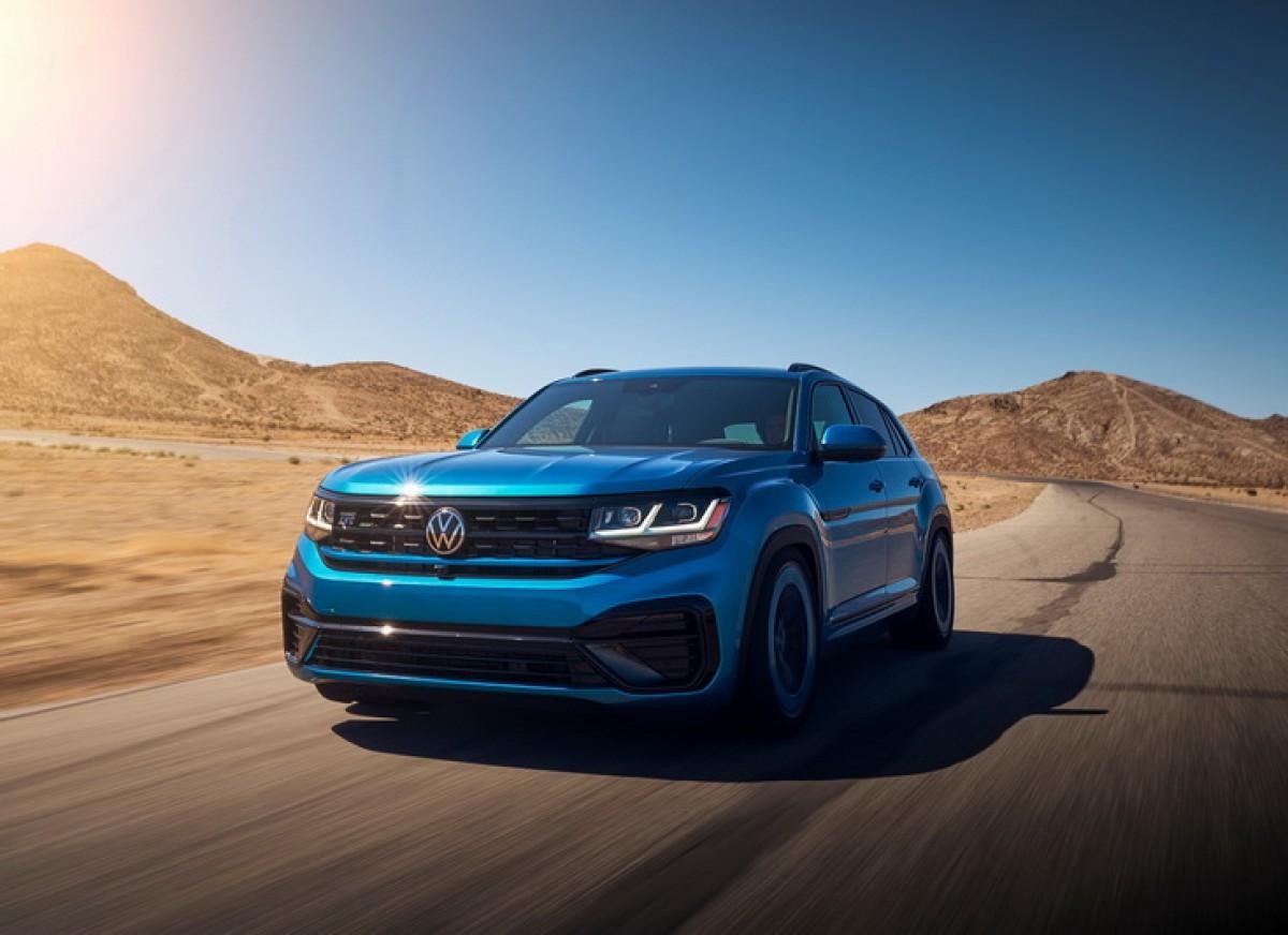 Volkswagen Atlas Cross Sport GT 讓大傢伙也能擁有凶狠伴樣!