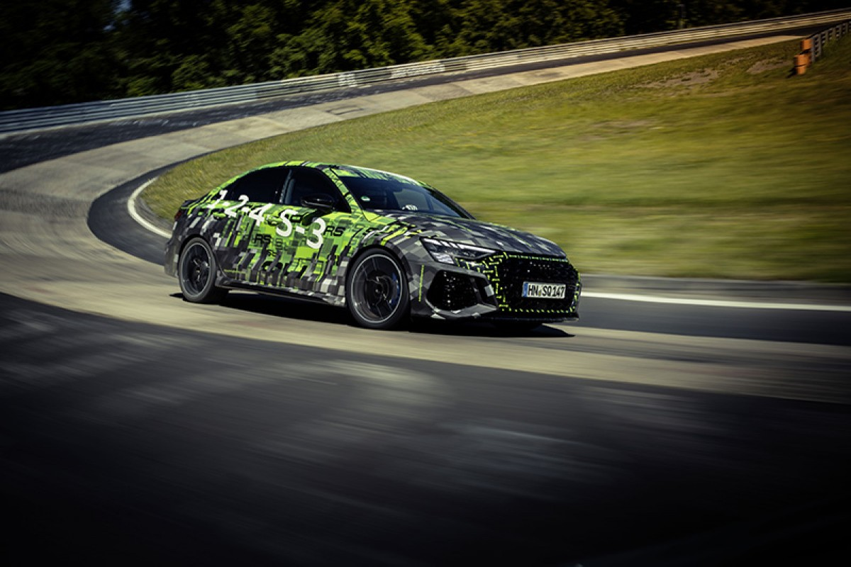 Audi全新RS 3 Sedan創7分40秒748紐柏林北環賽道Compact Cars最速成績!(影片)