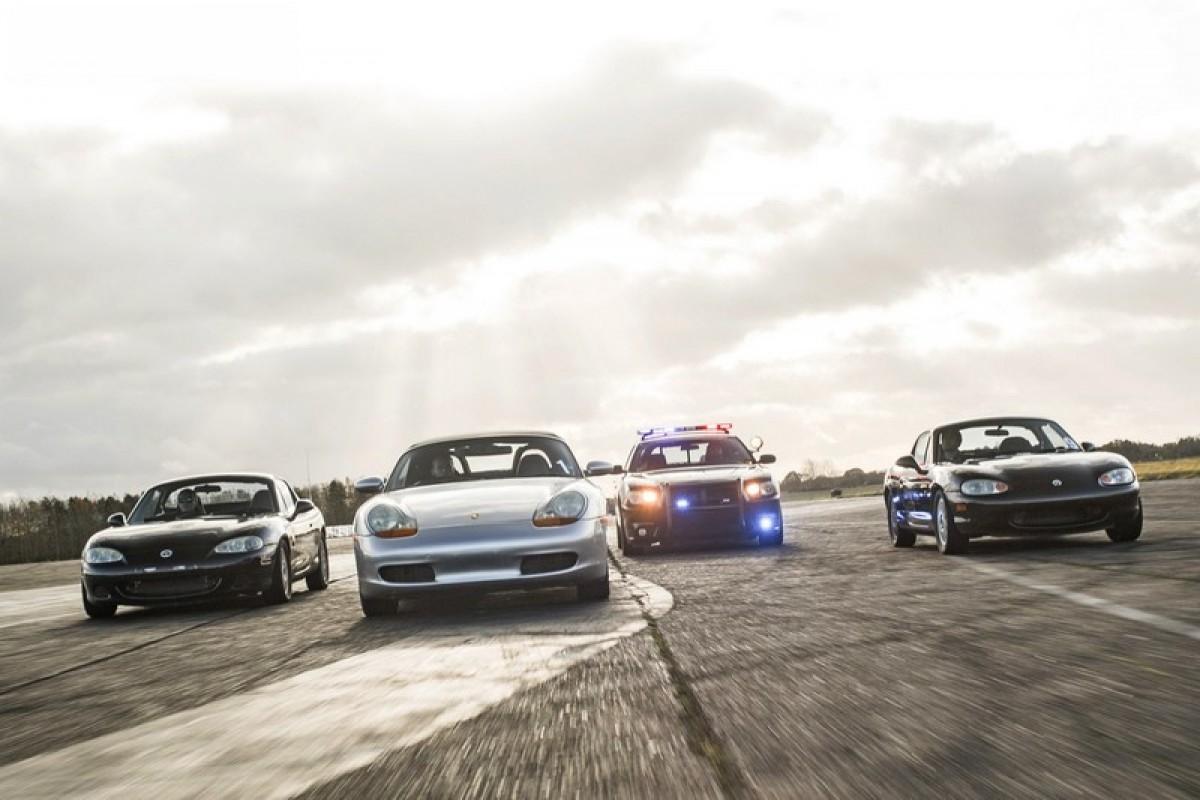 賽道活動新玩法,上演真實版GTA警察追逐情節