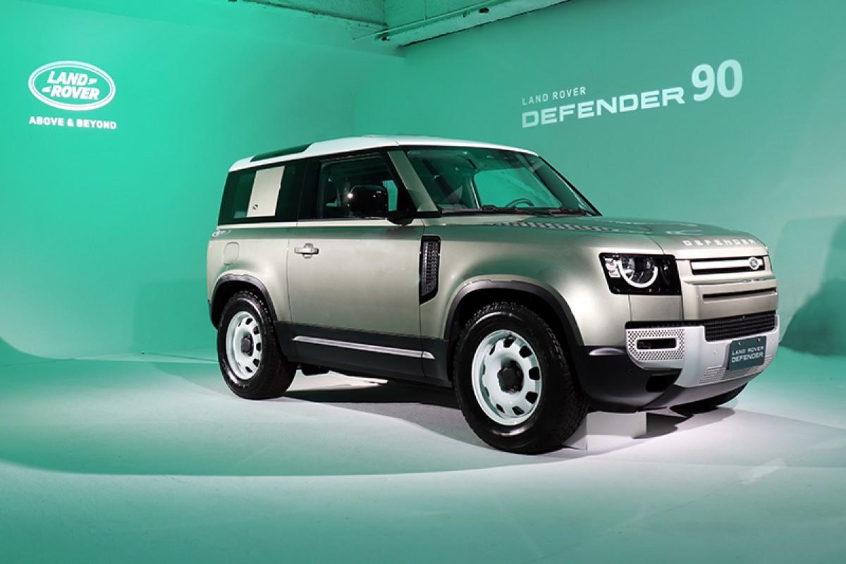 239萬元起,The New Land Rover Defender 90正式上市!