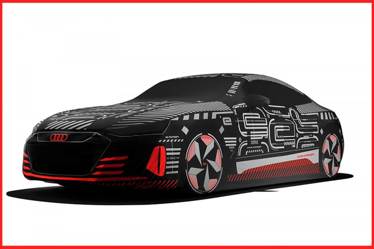 回歸原貌─Audi推出e-tron GT專屬原型概念車彩繪車罩!