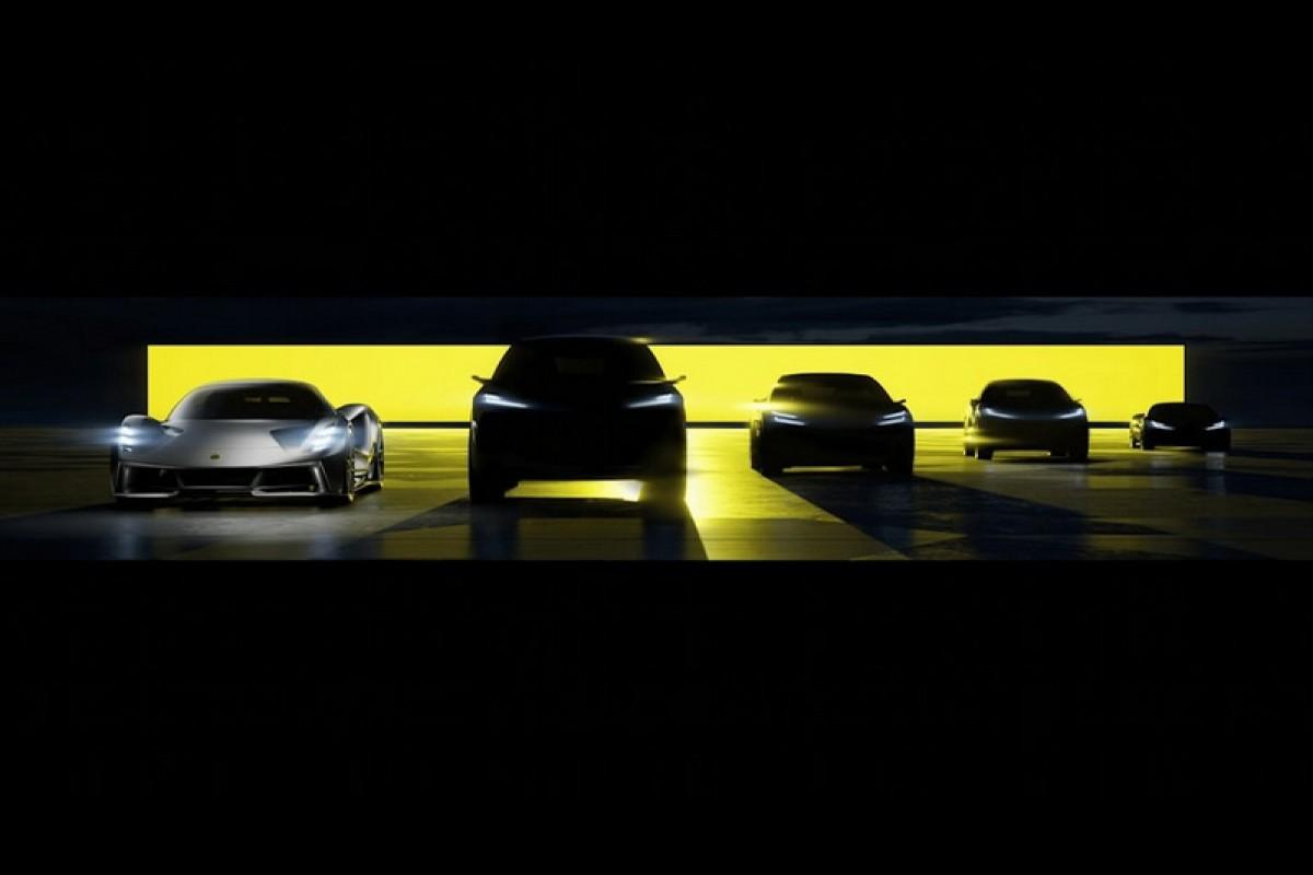 Lotus Vision80電動車策略始動,最快2022年推出首款純電休旅作品!