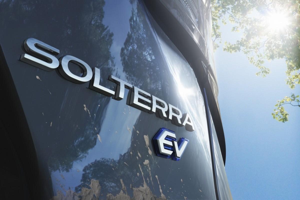 Subaru首款e-SGP電動車Solterra,釋出更多圖片預告即將現身