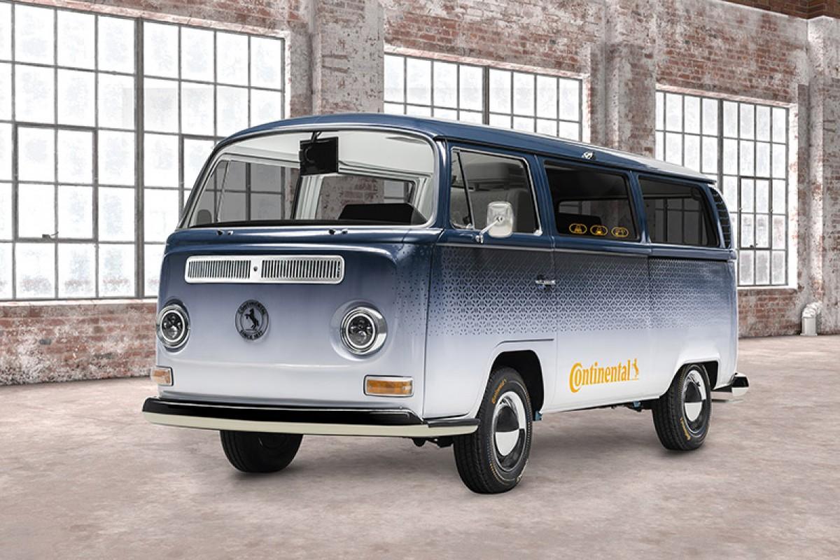 老車科技新靈魂─Continental以VW T2打造AMBIENC3概念車,示範未來移動起居新概念