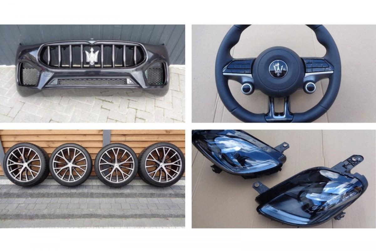 車未開賣零件先曝光? Maserati Grecale外觀特徵提前揭露!