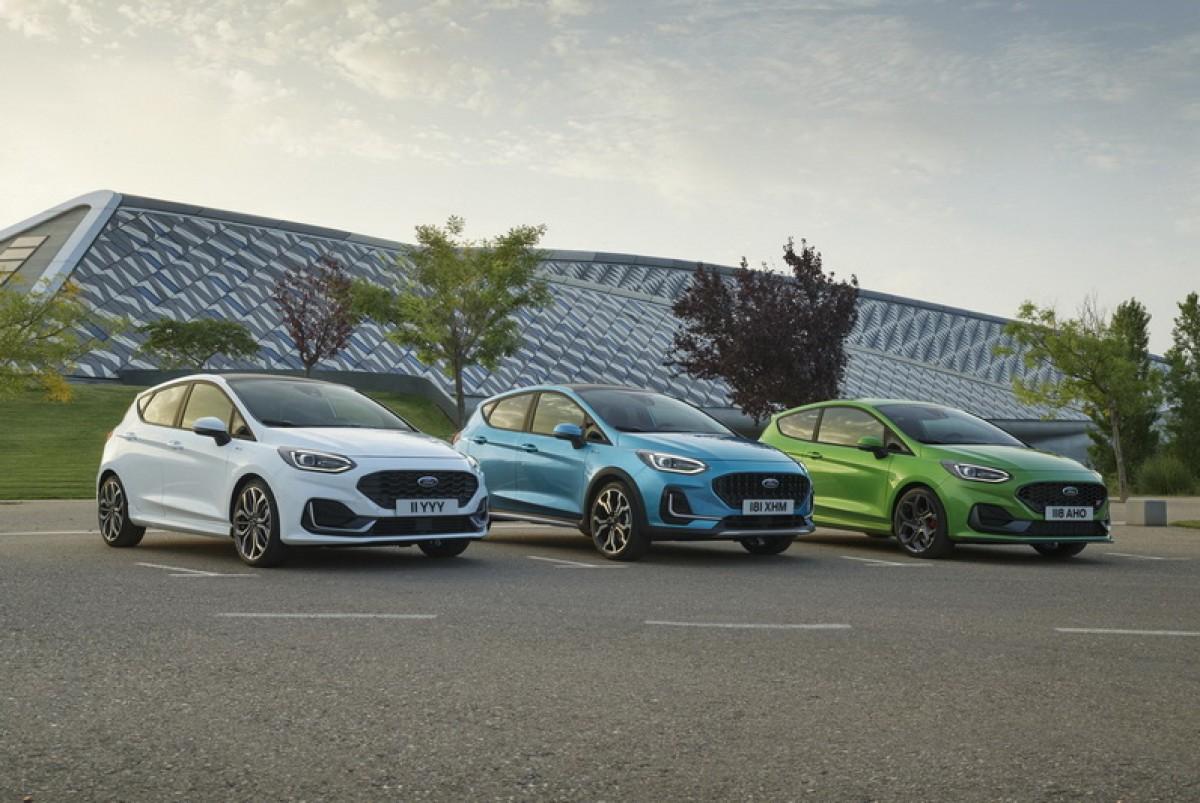 國內車迷只能望梅止渴,Ford Fiesta 7代在海外推出小改款車型