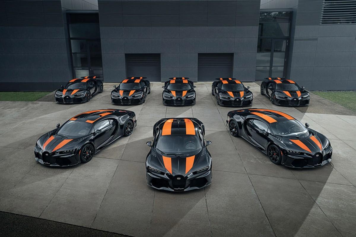 地表最速幸運兒,首批量產Bugatti Chiron Super Sport 300+即將交車!