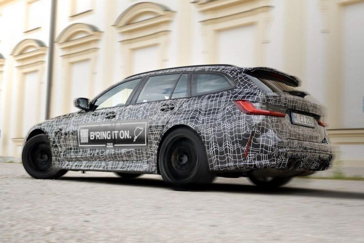 BMW釋出M3 Touring照,預告2022年登場亮相