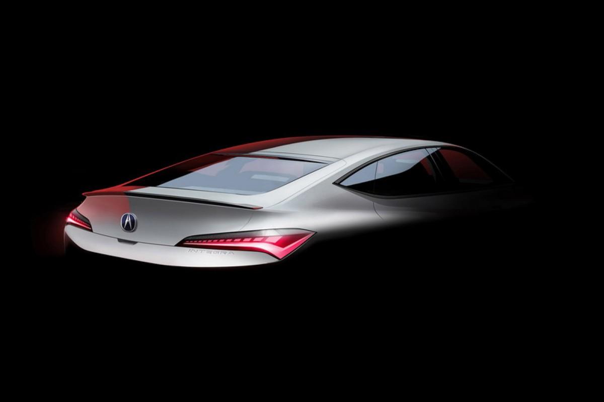 Acura Integra大改款尾部輪廓曝光,延續80年代斜背造型跑格十足!