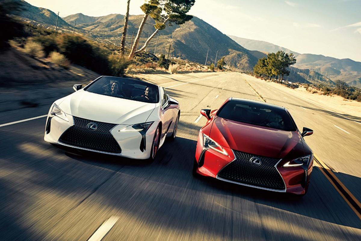 日本Lexus LC微幅精進,強化動態表現更具樂趣!