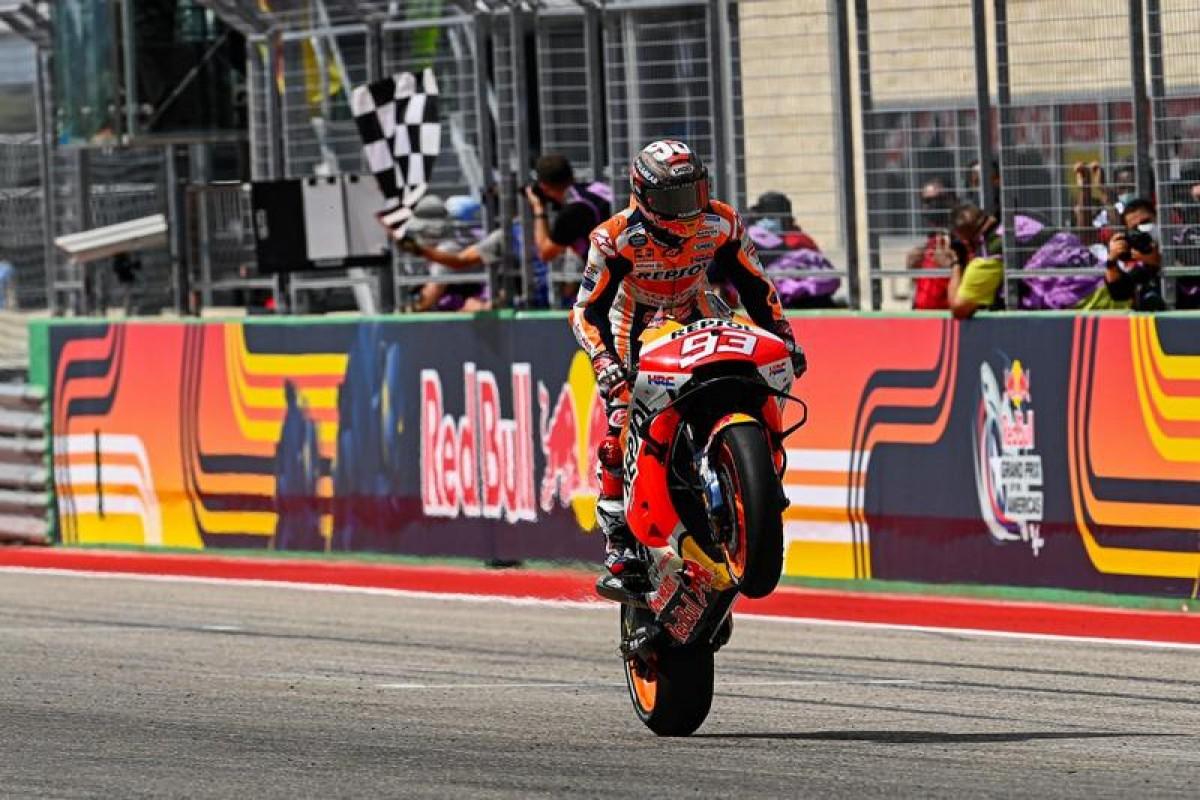 【MotoGP戰報:美國站】,美國王者地位無庸置疑,Marquez再次發威領跑全場輕鬆奪冠