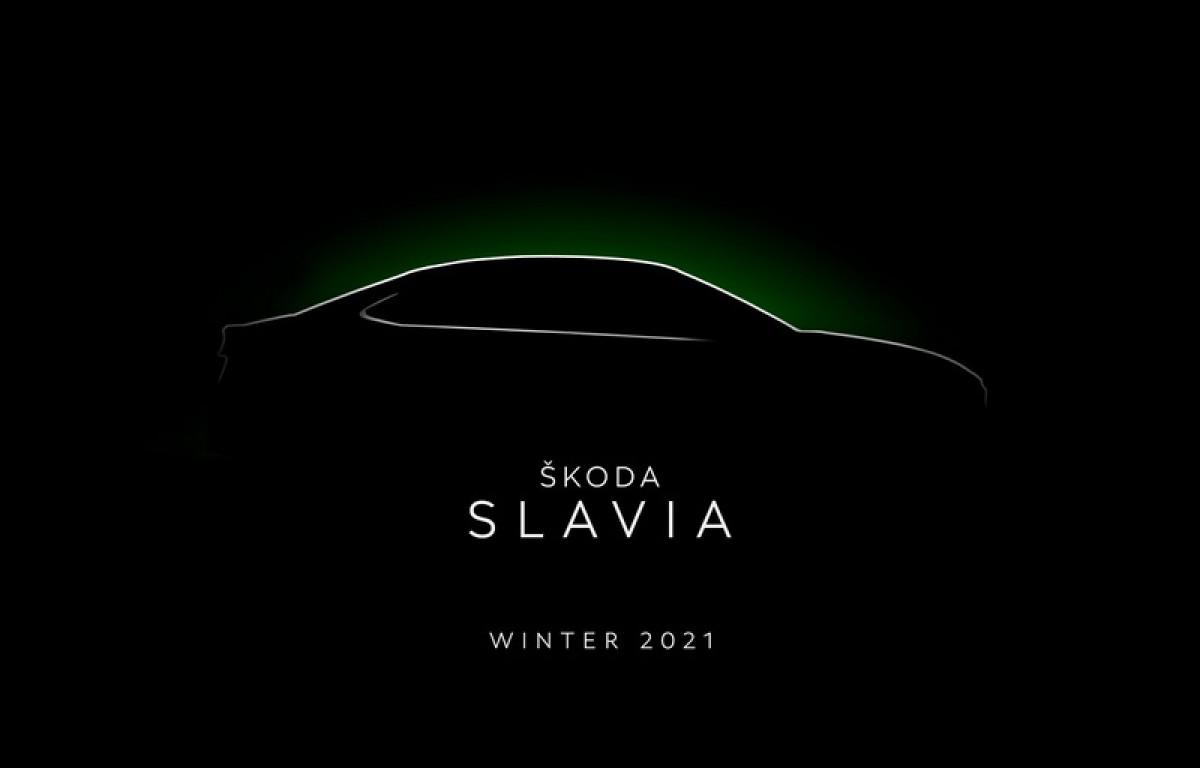 印度市場專屬車型二部曲,Skoda Slavia四門房車預告釋出!