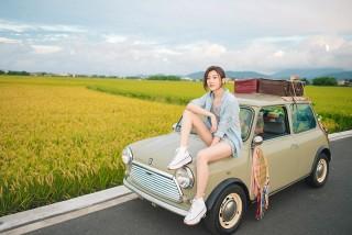 林逸欣2020年8月8日台南場音樂會包裝成「禮物」邀請爸爸參與。/旋轉娛樂提供