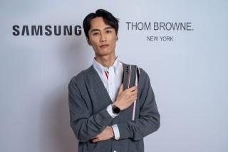 李英宏出席Galaxy Z Fold2 Thom Browne 限量版暨Thom Browne 2020 秋冬新品媒體發表。/品牌提供