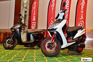 Brembo為12吋速克達及輕型檔車開發專用競技煞車盤,新品發表會邀請「小旋風」林志穎快閃站台。