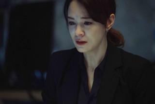 【車勢星聞】電影《複身犯》中張榕容既是理智的博士,也是脆弱的母親。(圖:牽猴子提供)