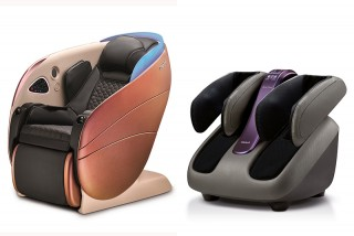 Osim「5感養身椅」、「智能腿樂樂2」雙明星產品全新升級。(圖: 品牌提供)