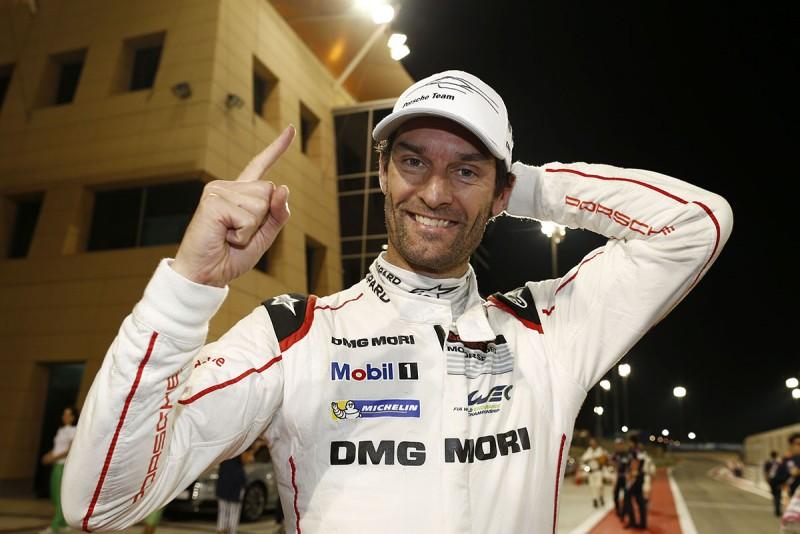Mark Webber再度參與LMP1組別賽事。