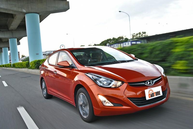 e.  Hyundai Elantra EX 1.8