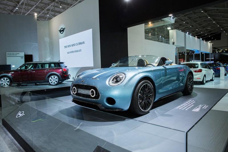由Mini與義大利的改裝公司Touring Superleggera,一手打造出跨越世代的極致美型手工跑車MiniSuperleggera™ Vision -