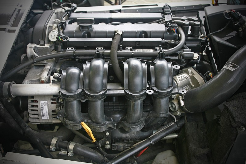 1.6升直四自然進氣動力源自Ford,120ps輸出當然不算了得。