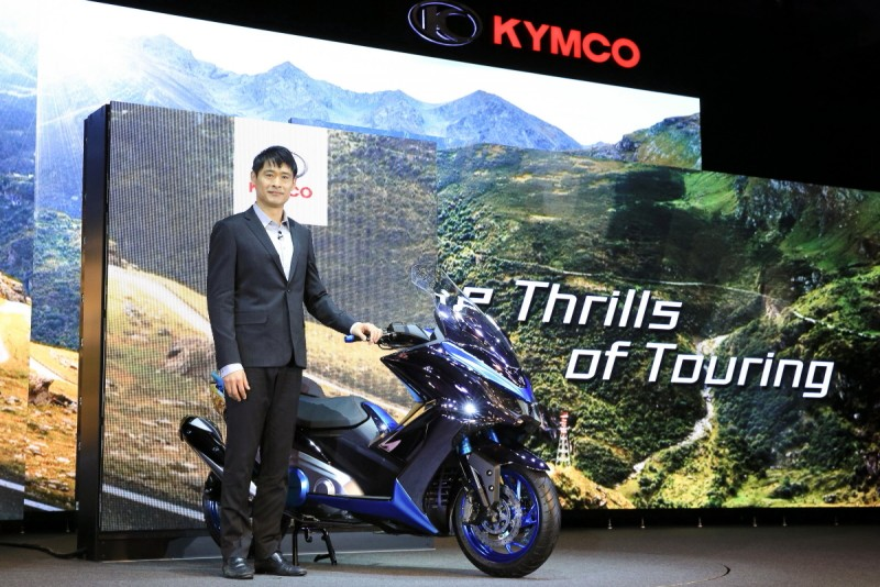 Kymco光陽機車董事長柯勝峯親自揭幕建廠50週年代表作「K50 Concept」概念車
