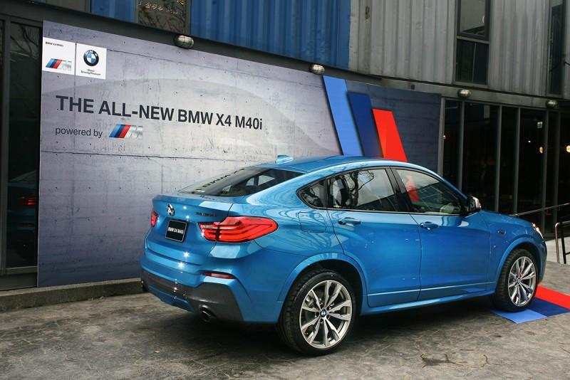 X4 M40i堪稱X4 M出現前車系性能當家。