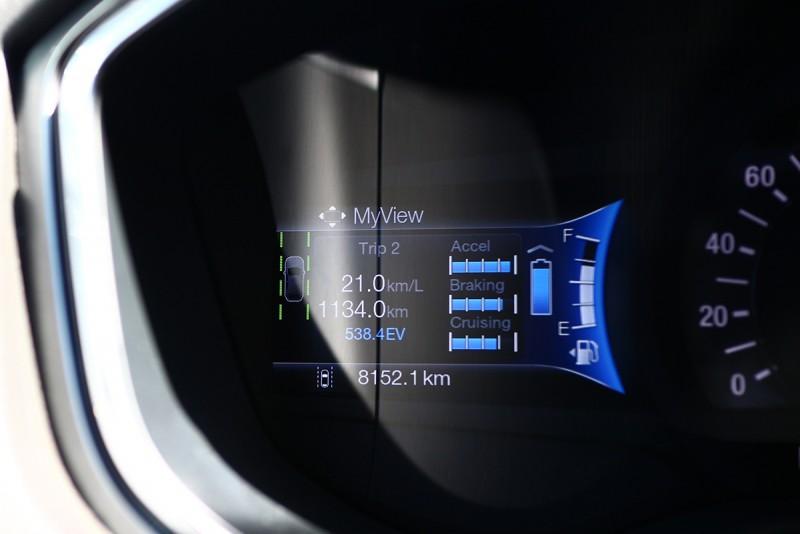 最終這次與Mondeo Hybrid共計相處了1134km超過千里的距離。
