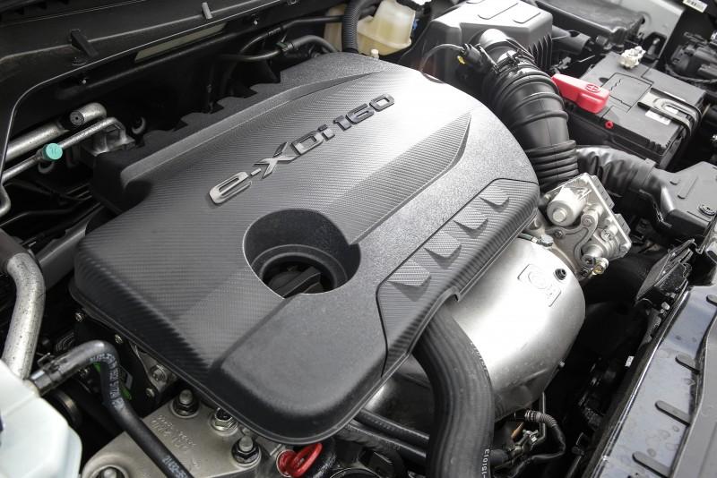 搭載1.6升直列四缸柴油引擎,具備115ps/30.6kgm輸出表現。