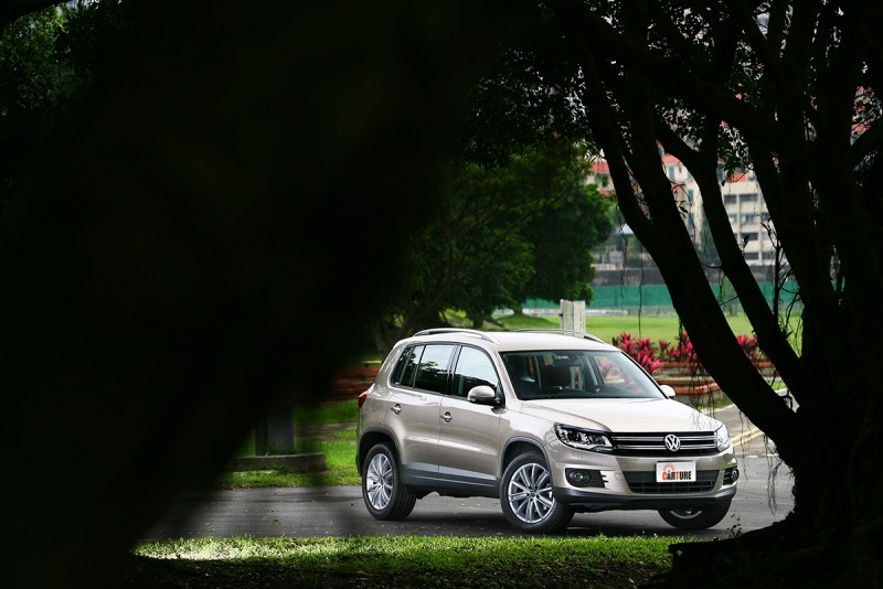 Volkswagen針對產品週期已屆末端的Tiguan推出特仕車款,加裝了價值近20萬元的套件後,維持與基礎車型1.4TSI相同的114.8萬售價。