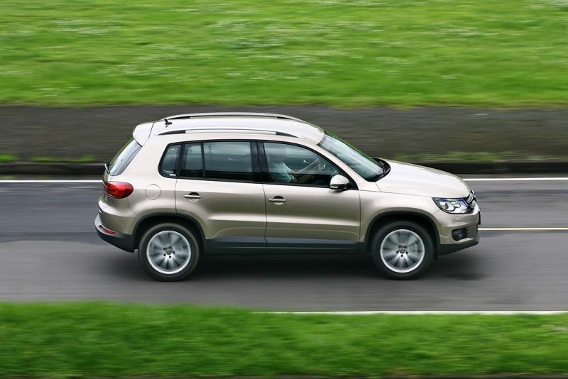 平地提速能力輕快,展現Volkswagen為人稱道的小排氣量大動力輸出之動力科技優勢。