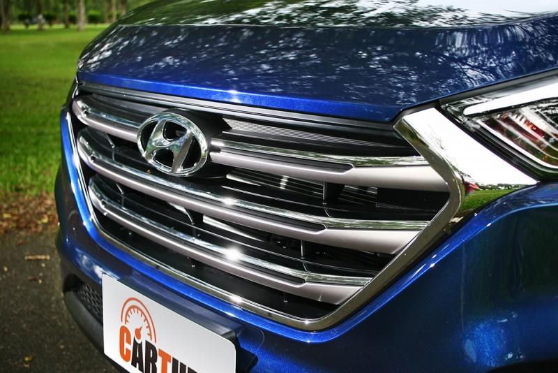 大型化六角水箱護罩已成為新世代Hyundai車款的識別圖騰。