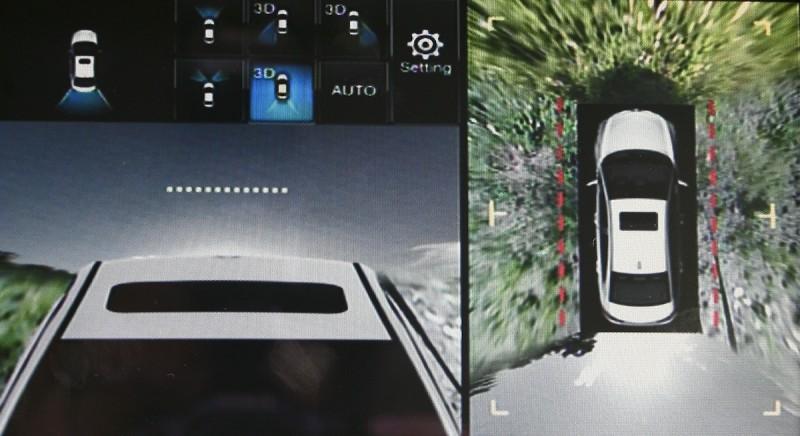 車前雙側防撞監測系統、SideView⁺車側安全影像輔助系統、3D X-View⁺智慧3D影像輔助系統等主動安全監測機制,讓停車與行車死角無所遁形。