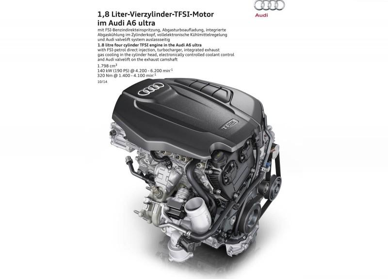 A6 35 TFSI搭載1.8升渦輪增壓汽油引擎,清楚展現新世代動力科技的優勢。